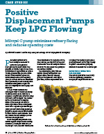 Positive displacement pumps keeps LPG flowing