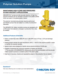 Polymer Solution Pumps