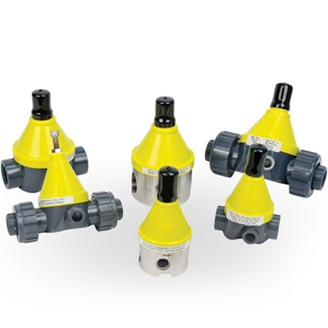 Valves for dosing processes