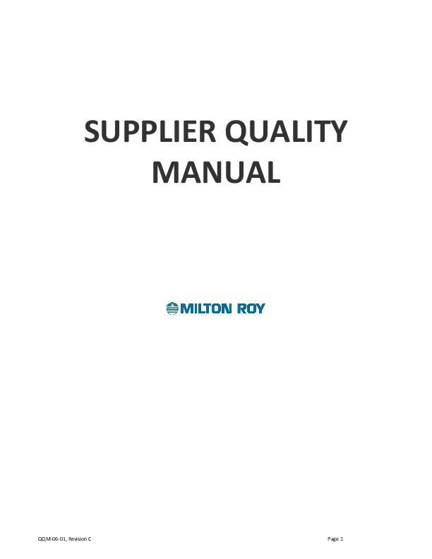 QQM-06-01SQA-Manual-Revision-C